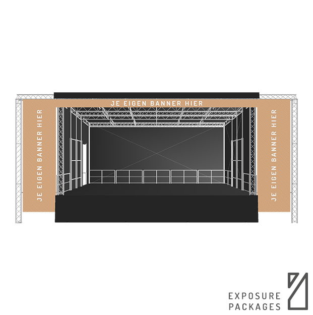 Exposure Package B Stage 61| Stage Company Podium Huren