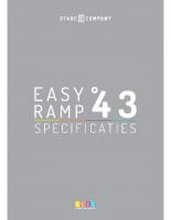 Stage 43-EasyRamp  | StageCompany Podium Huren