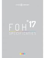 Stage 17 | FOH-specificatie