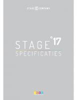 Stage17-Technische specificaties